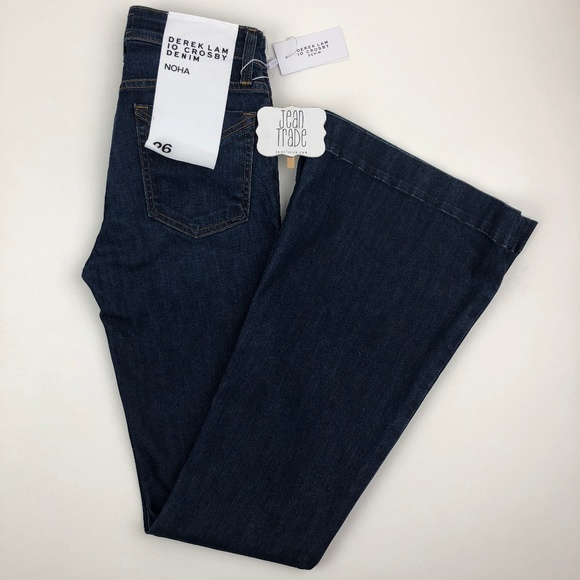 Derek Lam Denim - NWT Derek Lam 10 Crosby Noha Sexy Flared Jeans